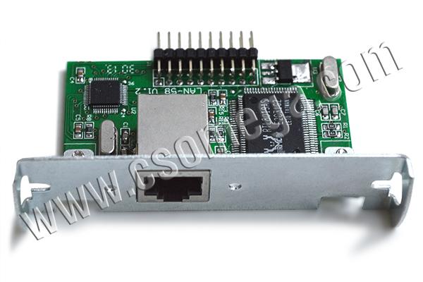 Купить Плату интерфейсную Ethernet для термопринтера UNS-TP51.04