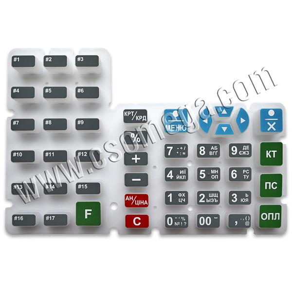 Коврик клавиатурный KLA22058 для ЭККА MINI-T61.01