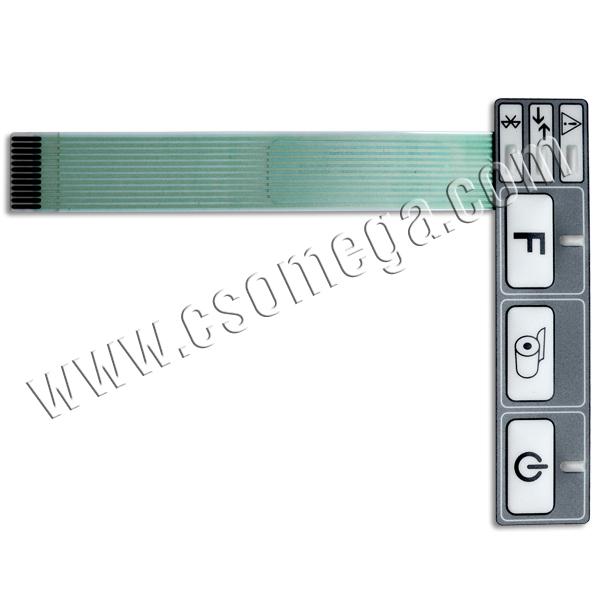 Купить Клавиатурную мембрану ND-12080 для фискального регистратора МІНІ-ФП54.01