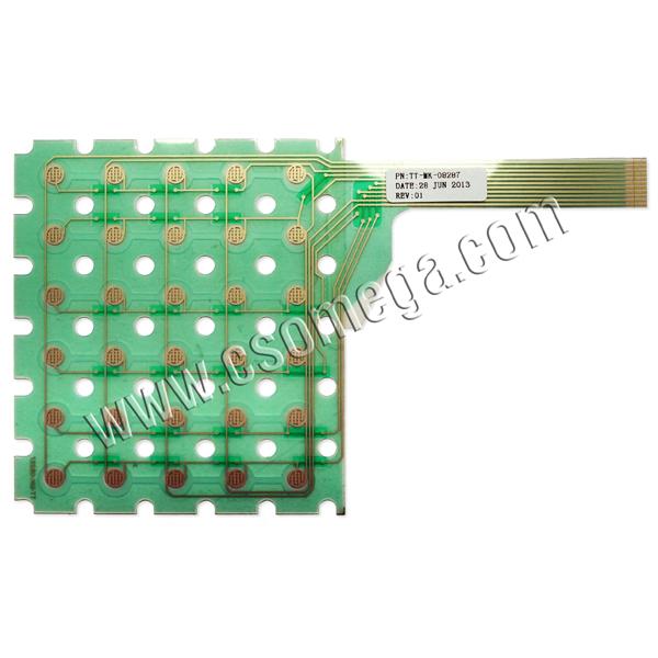 Мембрана клавиатурная ТТ-МК-08287 для ЭККА MINI-500.02ME